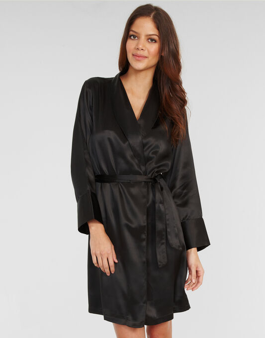 Julianne Coco Silk Robe