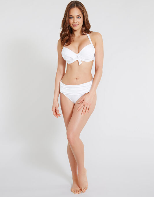 Pour Moi? Azure Ruched Bikini Brief