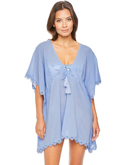 Seafolly Beach Bazaar Crochet Trim Kaftan
