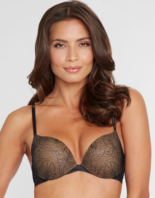 Calvin Klein Icon Lace Perfect Push Up Bra