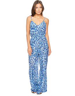 Seafolly Ink Spots Indigo Print Jumpsuit