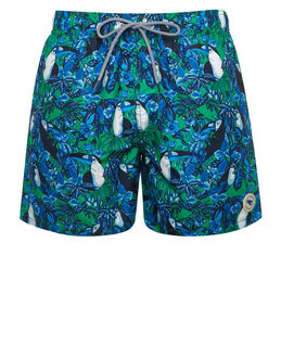 Ted Baker Toucan Illustration Swim Short