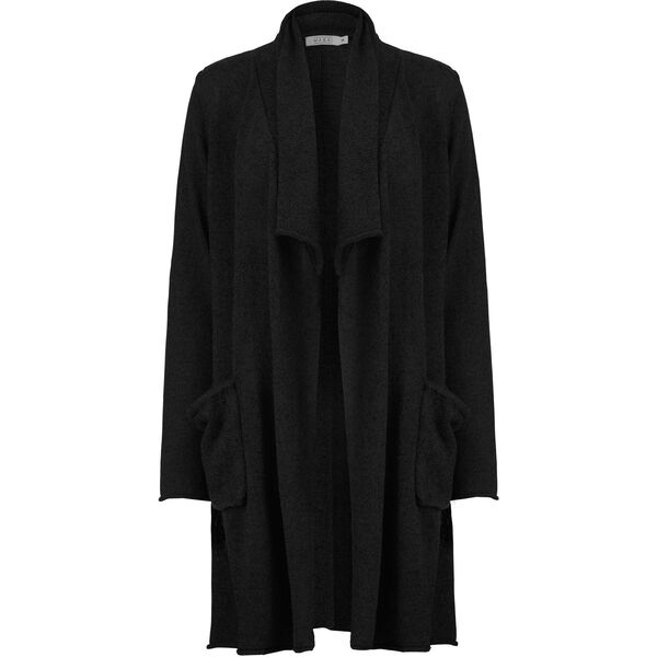 LAMYA CARDIGAN, BLACK, hi-res