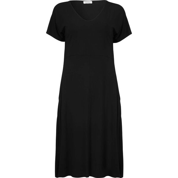 NEMY DRESS, BLACK, hi-res