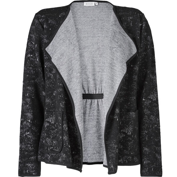 IRLIN CARDIGAN, BLACK, hi-res