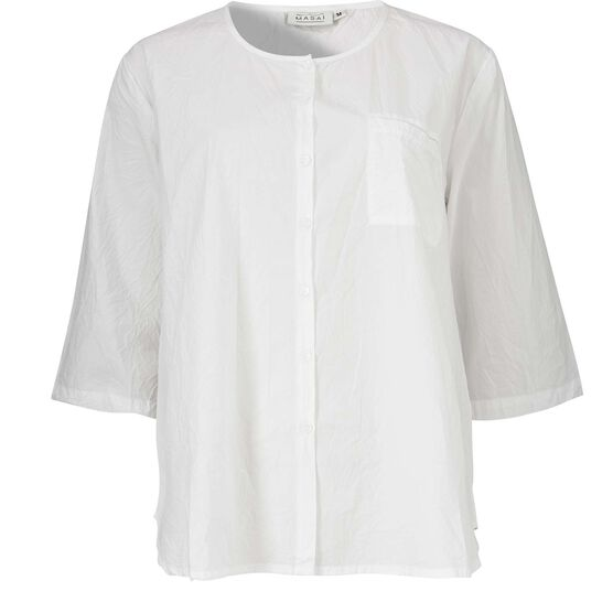IBEN BLOUSE, WHITE, hi-res
