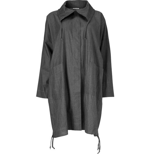 TATIANA COAT, BLACK, hi-res