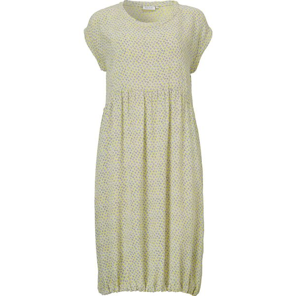 OBELLA DRESS, LEMON, hi-res