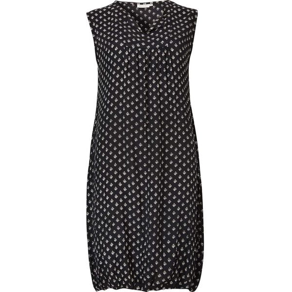 OBENA DRESS, BLACK, hi-res
