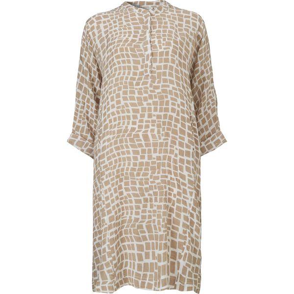 NEO DRESS, KHAKI, hi-res