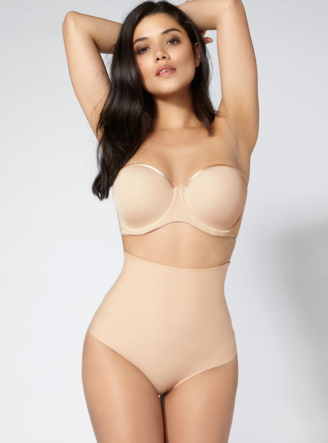 High waisted shaping thong