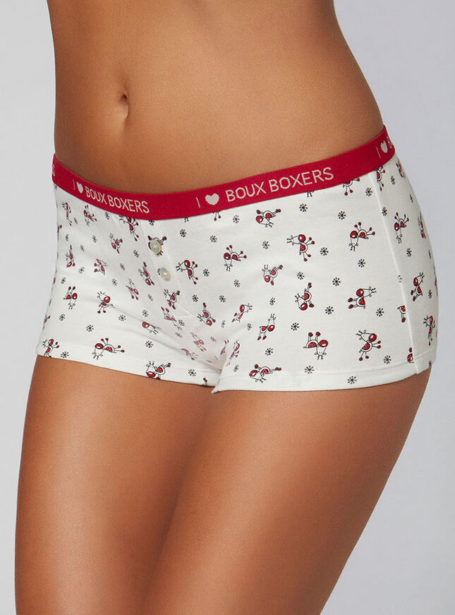Reindeer boy shorts