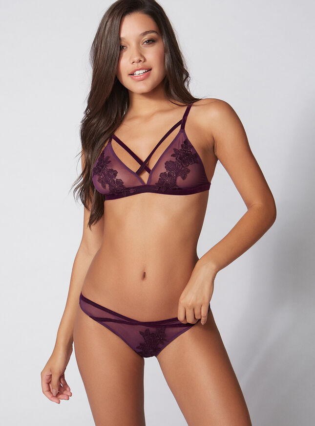 Strappy Lexie triangle bra
