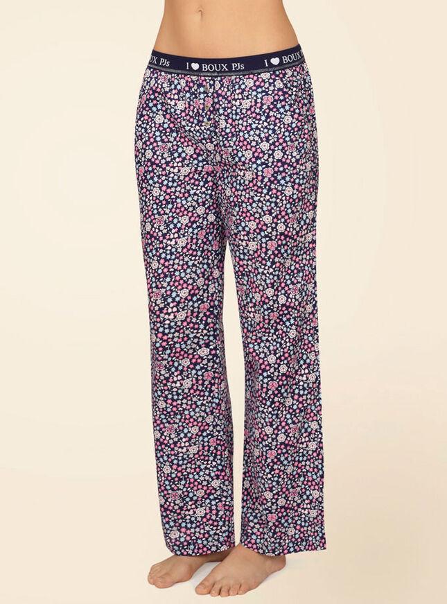 Georgie ditsy floral print pyjama pants