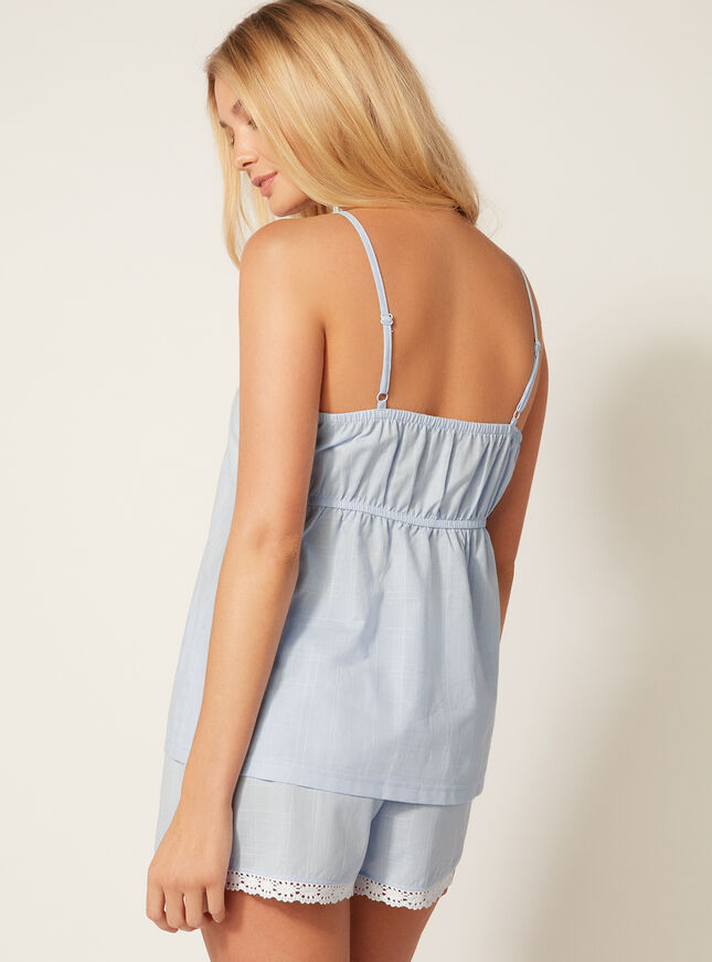 India embroidered pyjama set