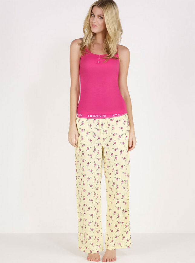 Boux flamingo pyjama pants