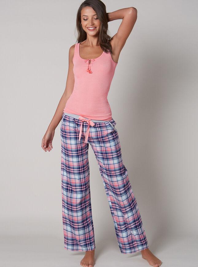 Check pyjama pants