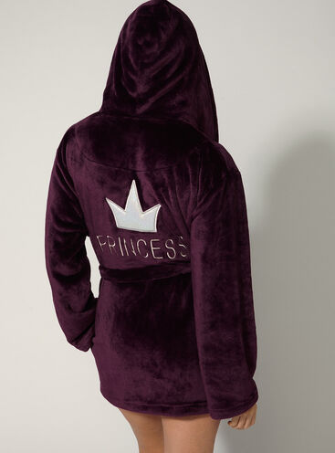 """Princess"" cropped robe"