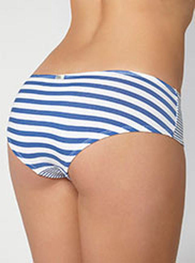 Two stripe ruched shorts