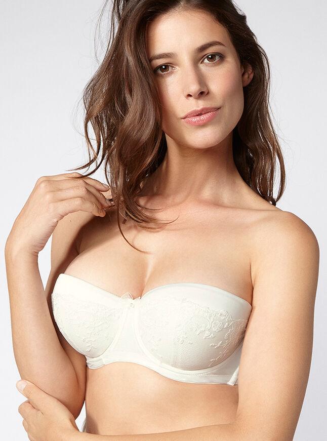 Angelina satin multiway bra