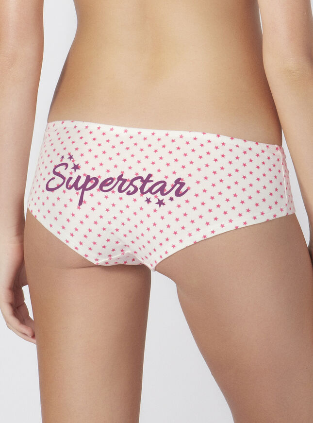 """Superstar"" ruched shorts"