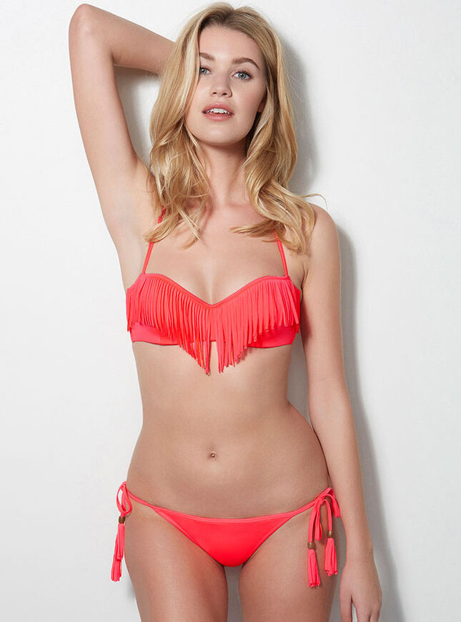 Fiji fringed bikini top
