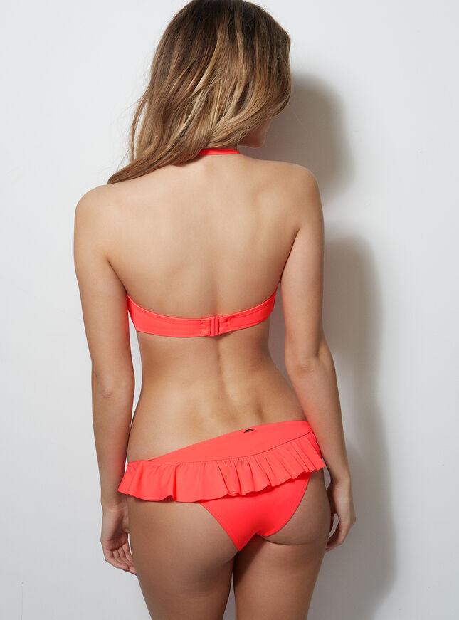 Laguna frill bikini briefs
