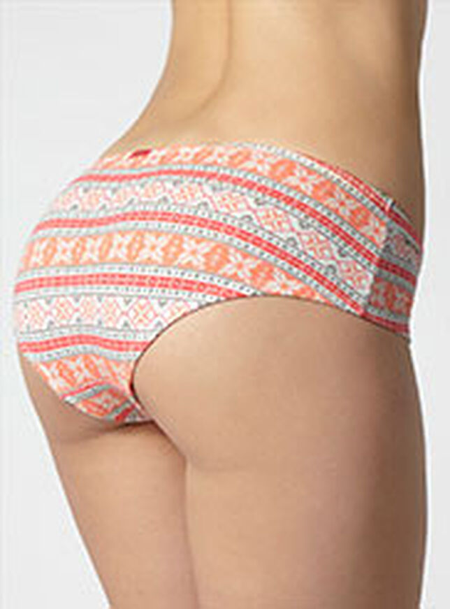 Fairisle ruched shorts