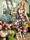 Spring floral printed camisole