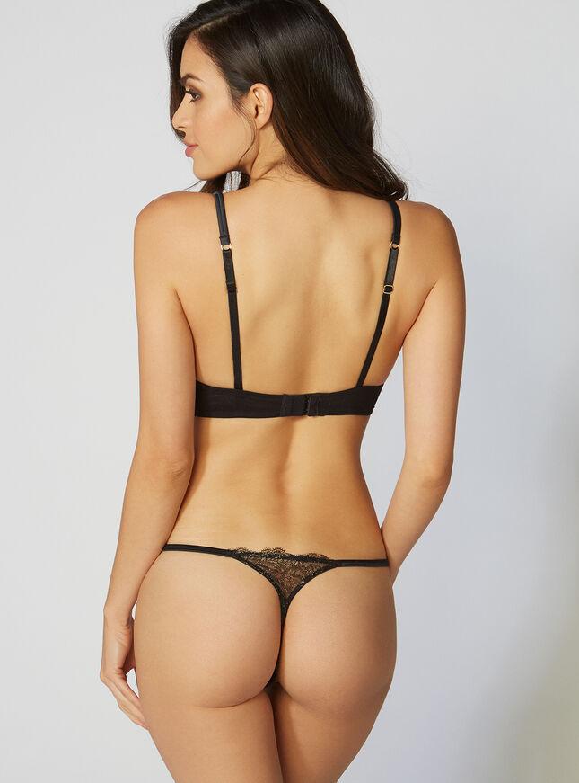Phoenix lace thong