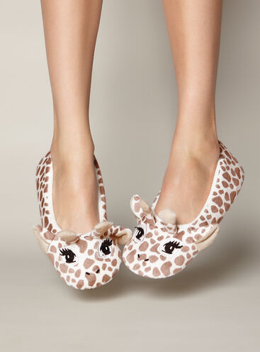 Gini giraffe slippers