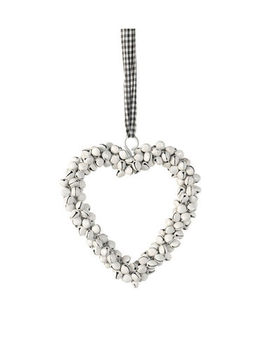 Heart Gingham Bell