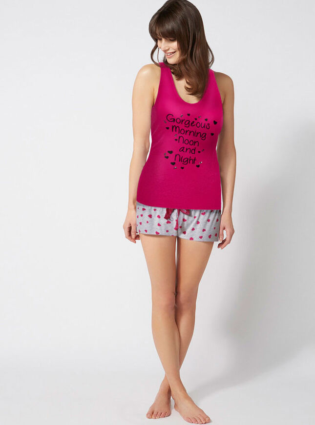 """Gorgeous morning noon and night"" pyjamas"
