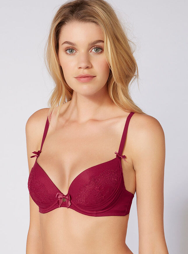 Nickie lace plunge bra