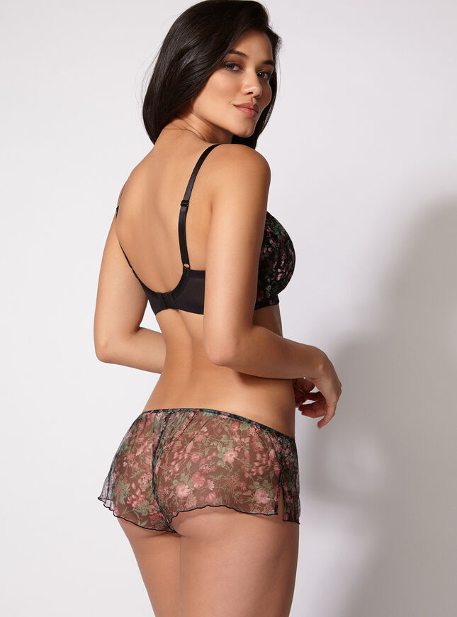 Bettie floral French knickers