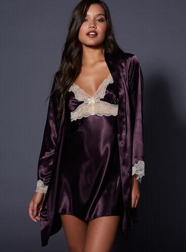 27d7bf41f0 Cheryl satin robe set