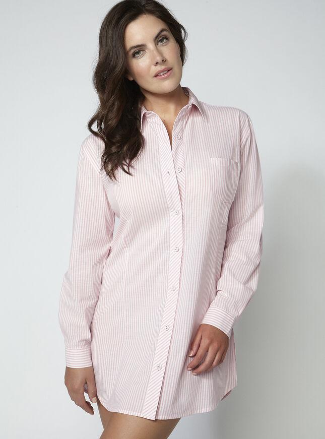 Tranquillity stripe nightshirt