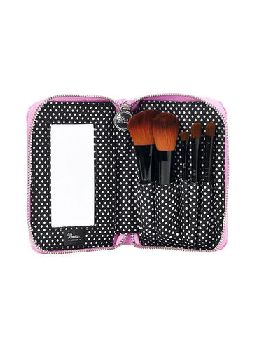 Gingham Make Up Brush Set