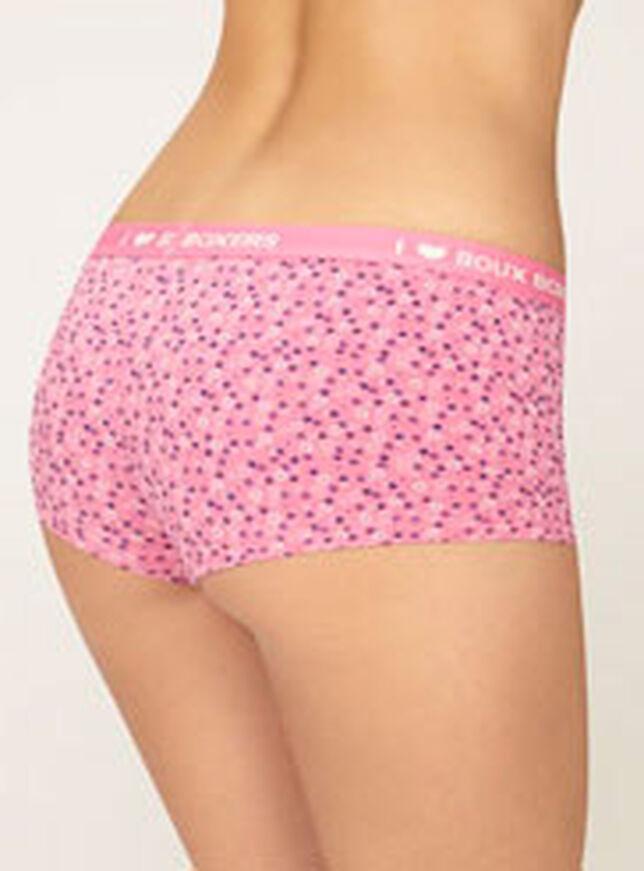 Brooke ditsy floral print boy shorts