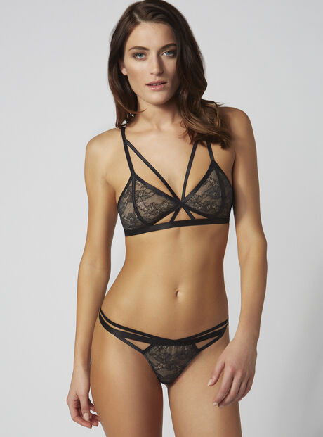 Rowena strappy thong