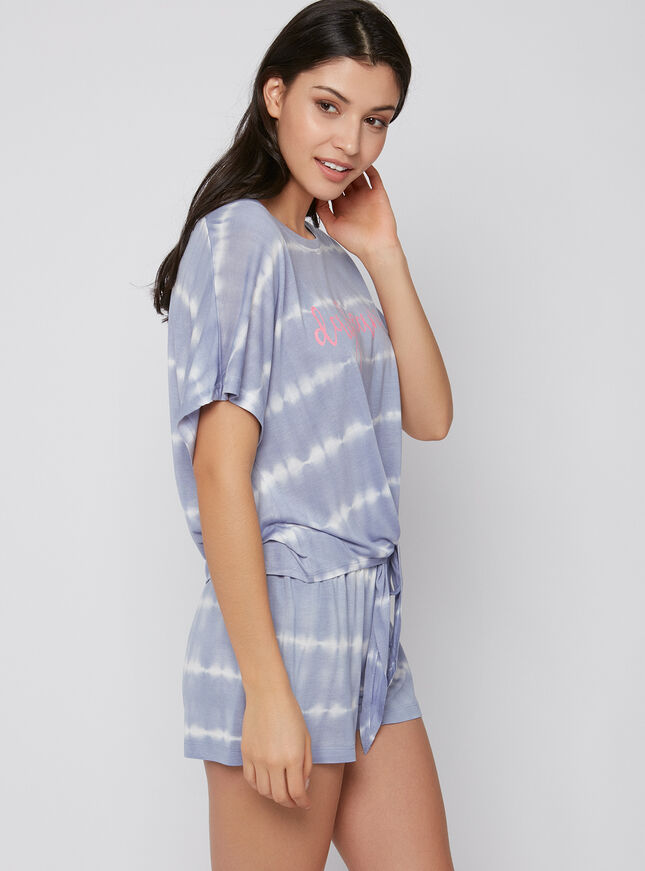 Daydreamer tie dye pyjama set
