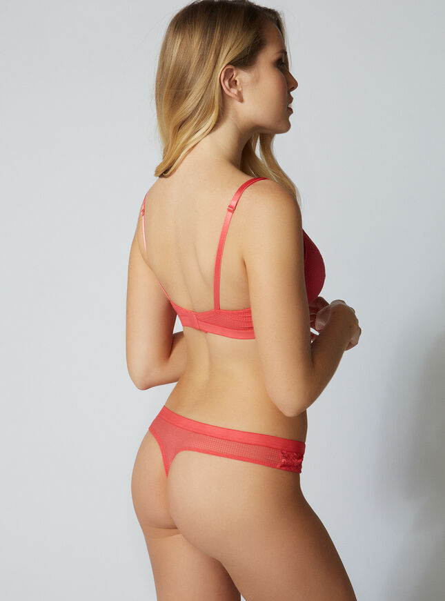 Leanne lace thong