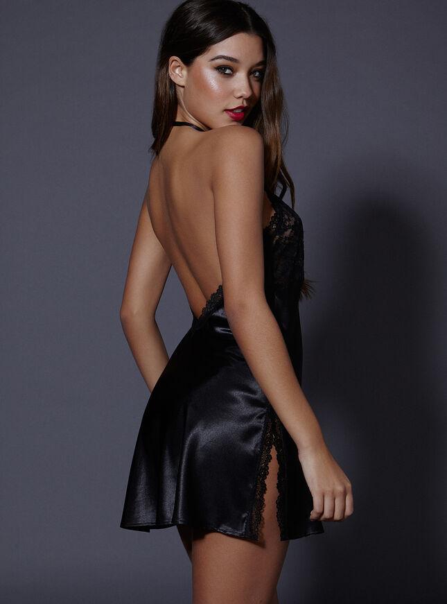 Vanessa satin chemise