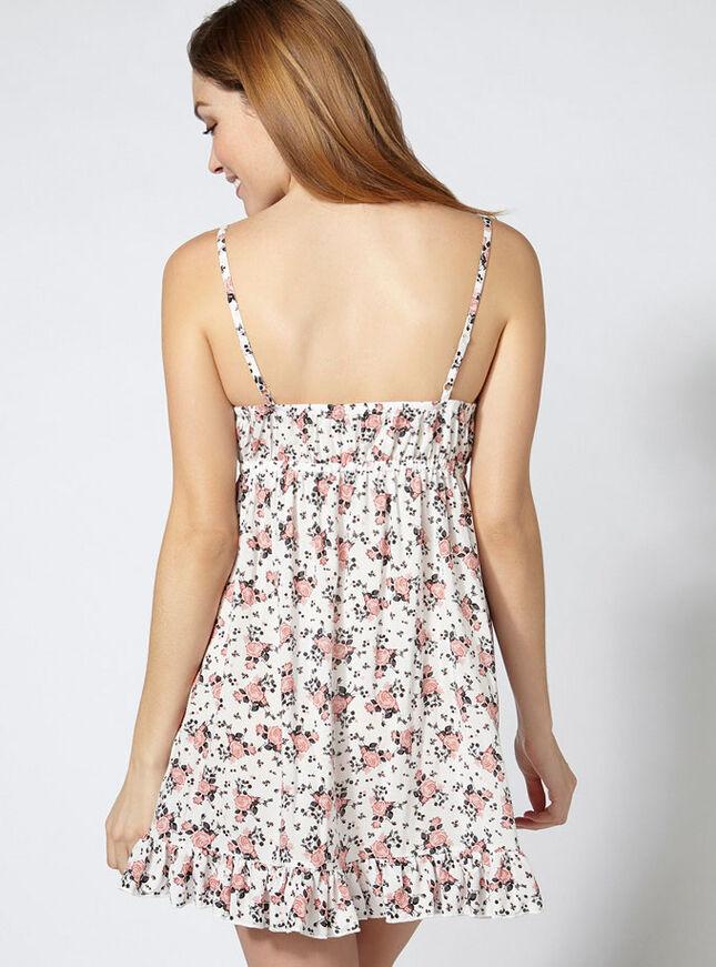 Rosie floral chemise