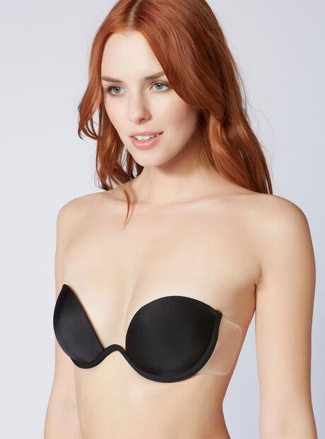 Backless strapless bra