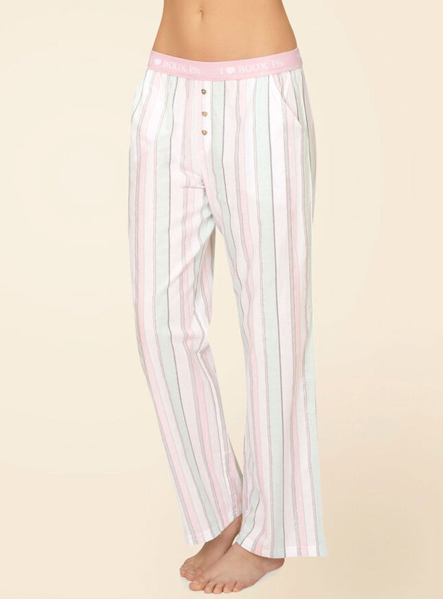 Georgie striped pyjama pants