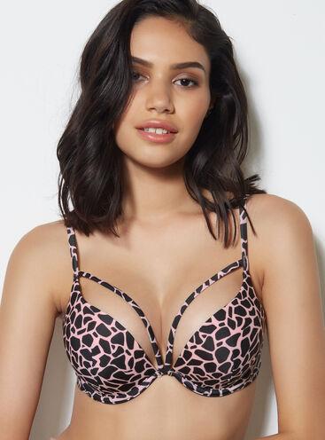 Tanzania giraffe boost bikini top