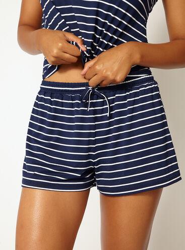 Jess stripe shorts