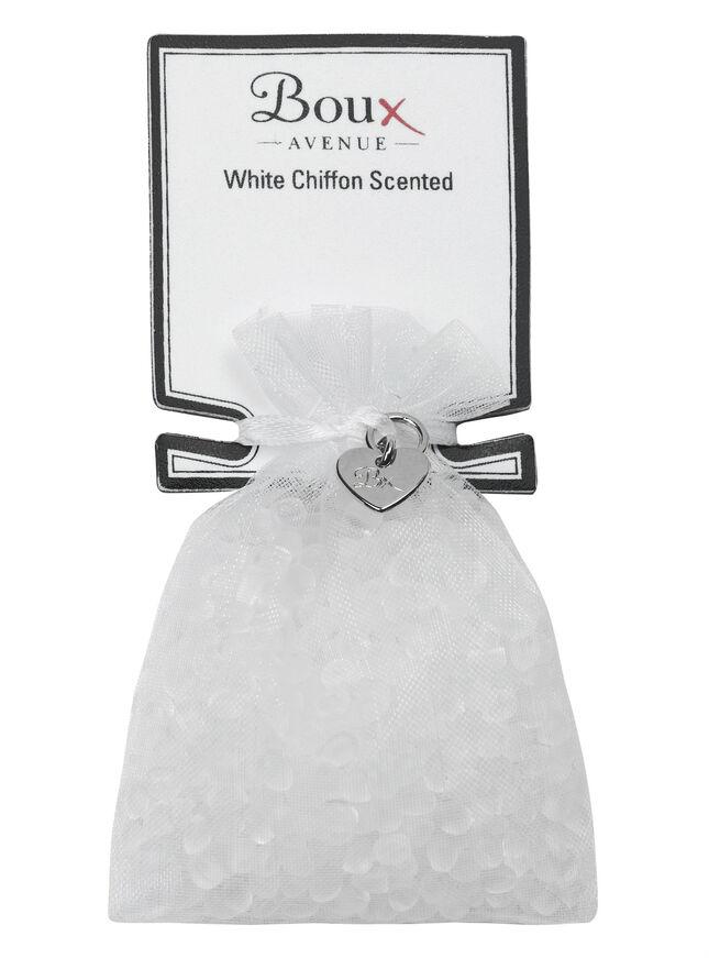 White Chiffon scented drawer sachet