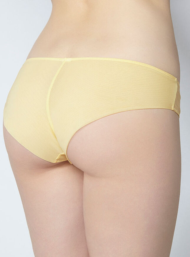 Charlotte stripe Brazilian briefs